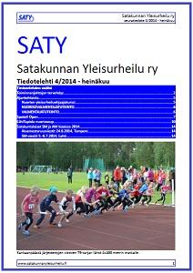 Heinäkuun tiedotelehti on julkaistu